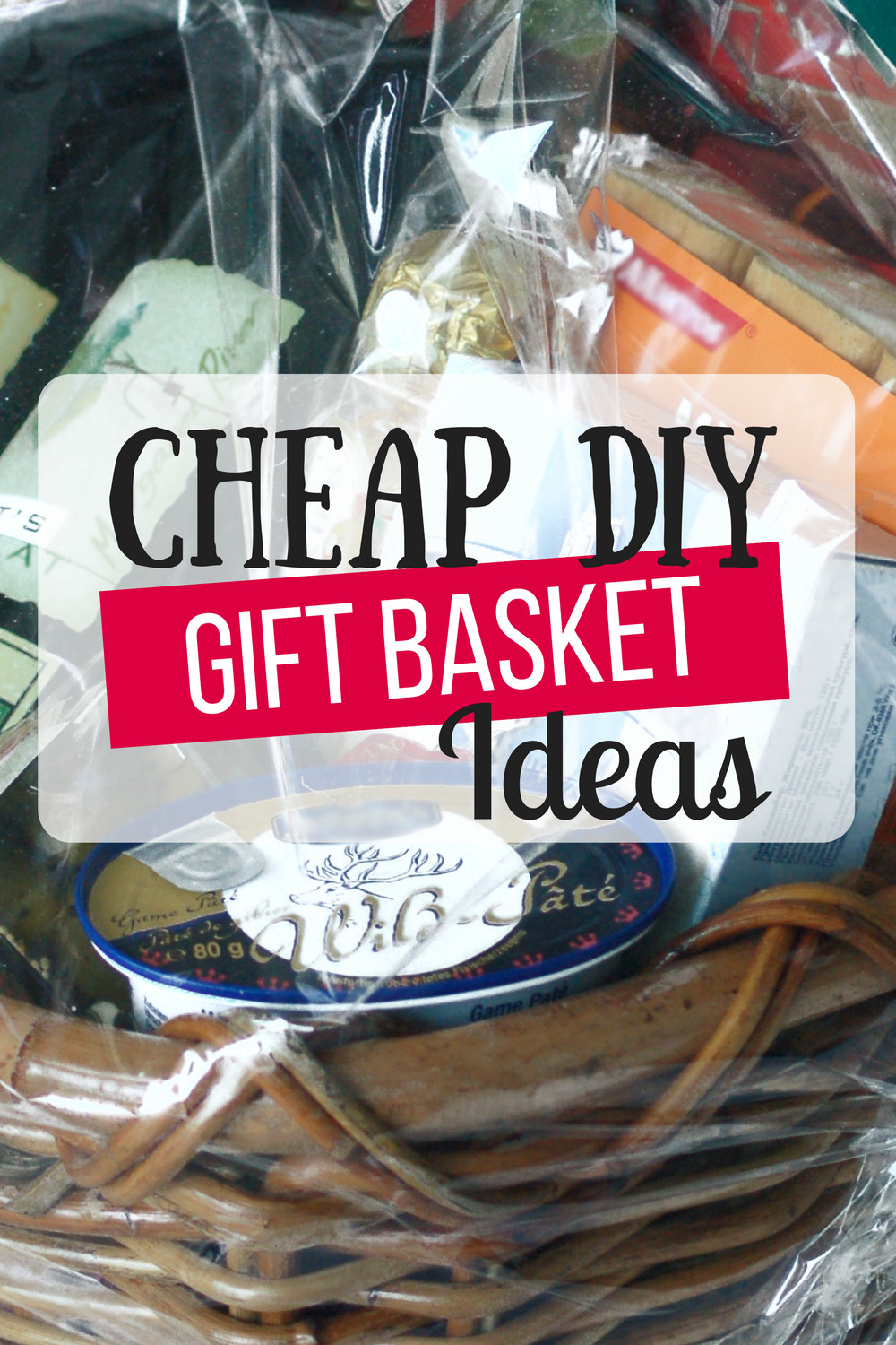 Home Made Christmas Gift Basket Ideas  Cheap DIY Gift Baskets The Busy Bud er