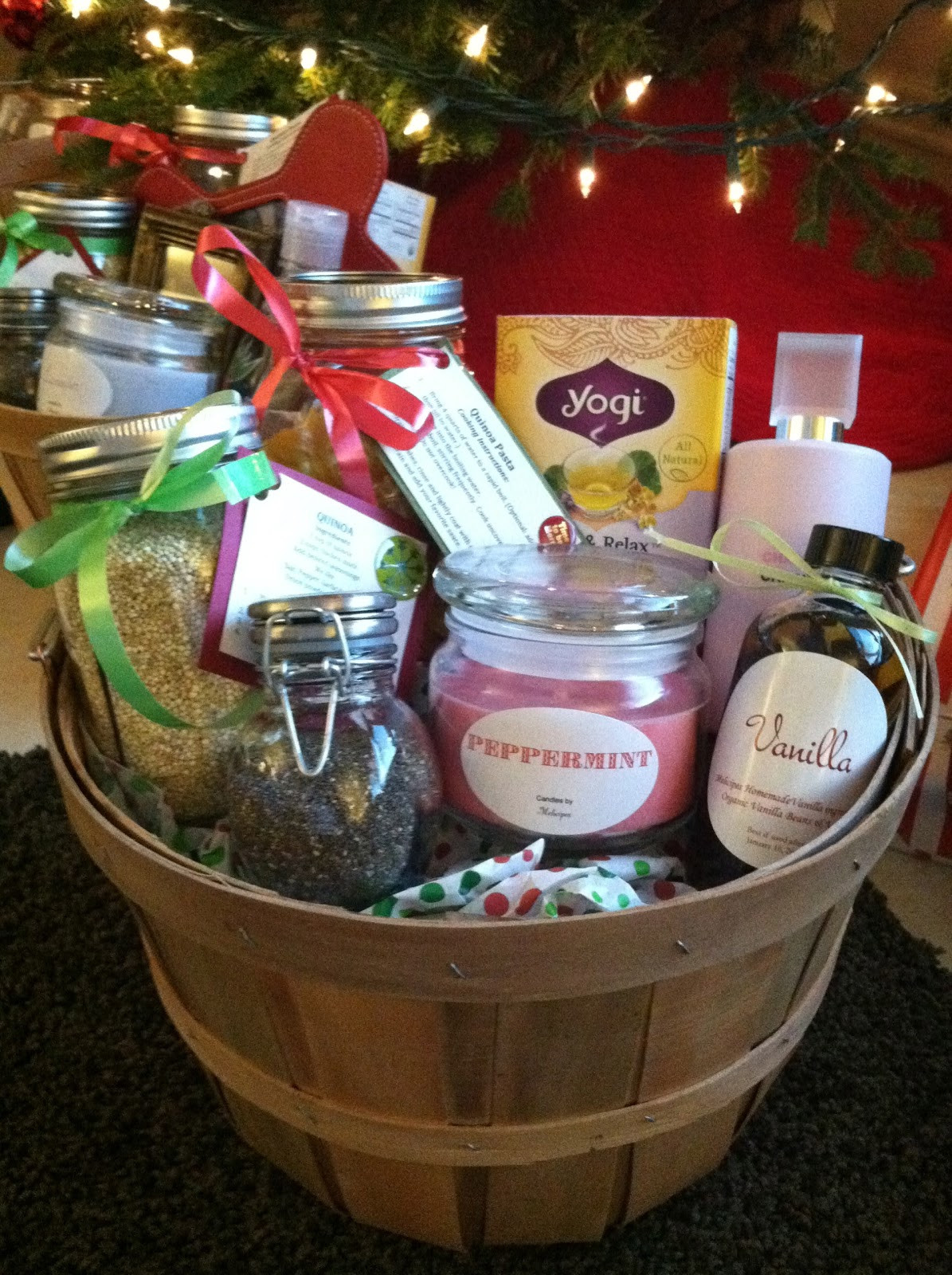 Home Made Christmas Gift Basket Ideas  melicipes Healthy & Homemade Gift Baskets