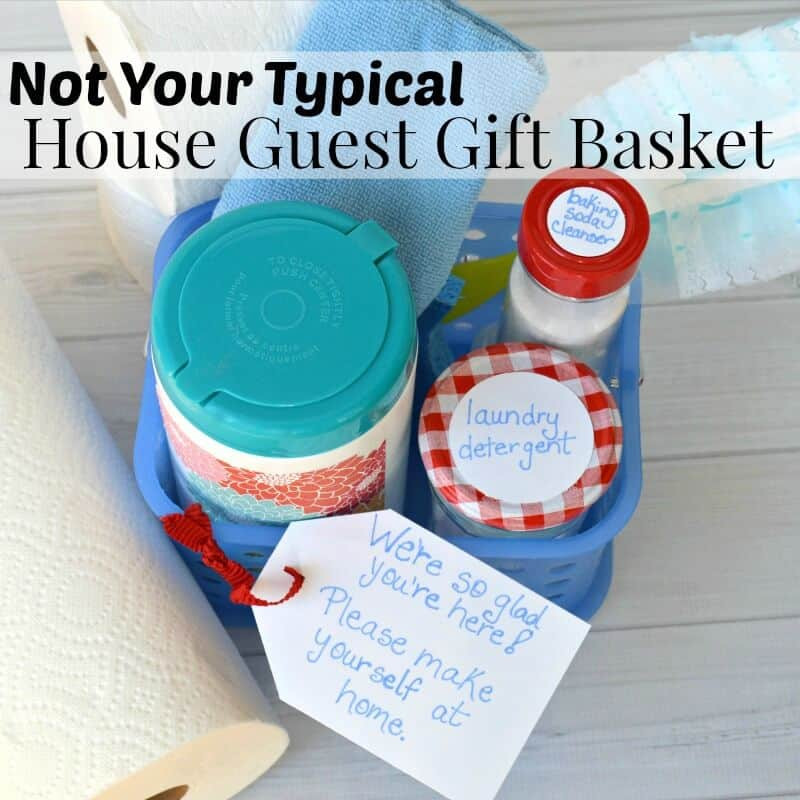 Houseguest Thank You Gift Ideas  Not Your Typical House Guest Gift Basket Organized 31