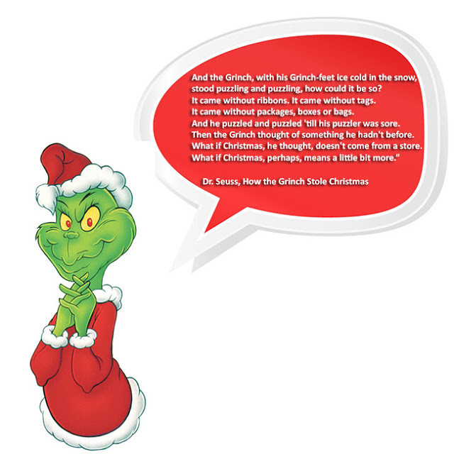 How The Grinch Stole Christmas Book Quotes  Hartwood Roses Back Among the Living