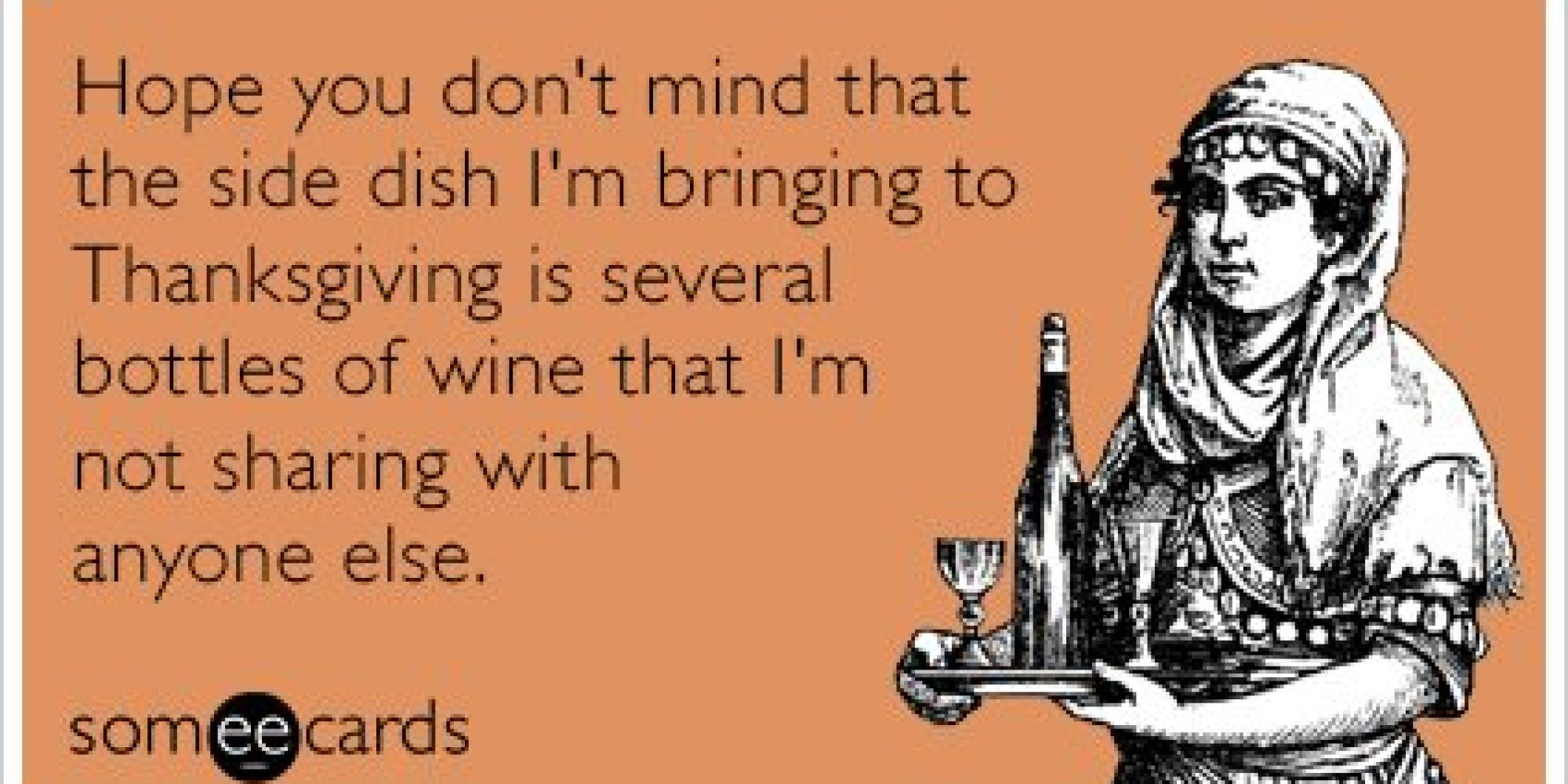 Humorous Thanksgiving Quotes  17 Thanksgiving Someecards To Brighten Up Your Turkey Day