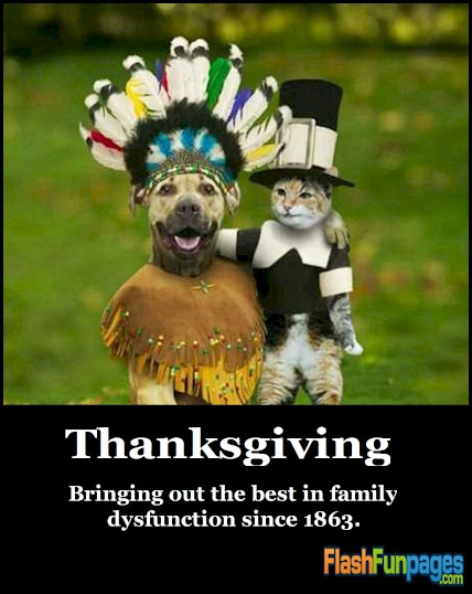 Humorous Thanksgiving Quotes  Friendship