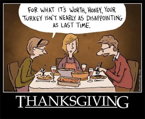 Humorous Thanksgiving Quotes  Thanksgiving Turkey Family and Boundaries – Milwaukee