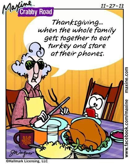 Humorous Thanksgiving Quotes  95 best images about Maxine Humor on Pinterest