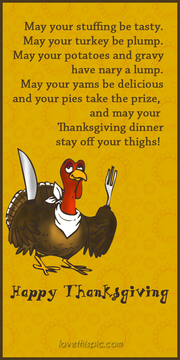 Humorous Thanksgiving Quotes  Thanksgiving s and for