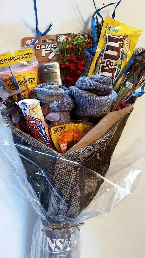 Hunting Gift Basket Ideas  HUNTING The Buck BRO k tm Customizable and