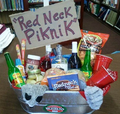Hunting Gift Basket Ideas  25 best ideas about Redneck ts on Pinterest