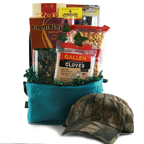 Hunting Gift Basket Ideas  Sports Gift Baskets Hunter Survival Kit Hunting Gift