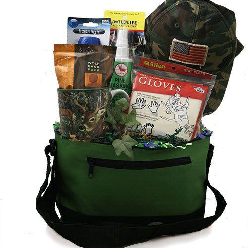 Hunting Gift Basket Ideas  Hunter Survival Kit Hunting Gift Basket