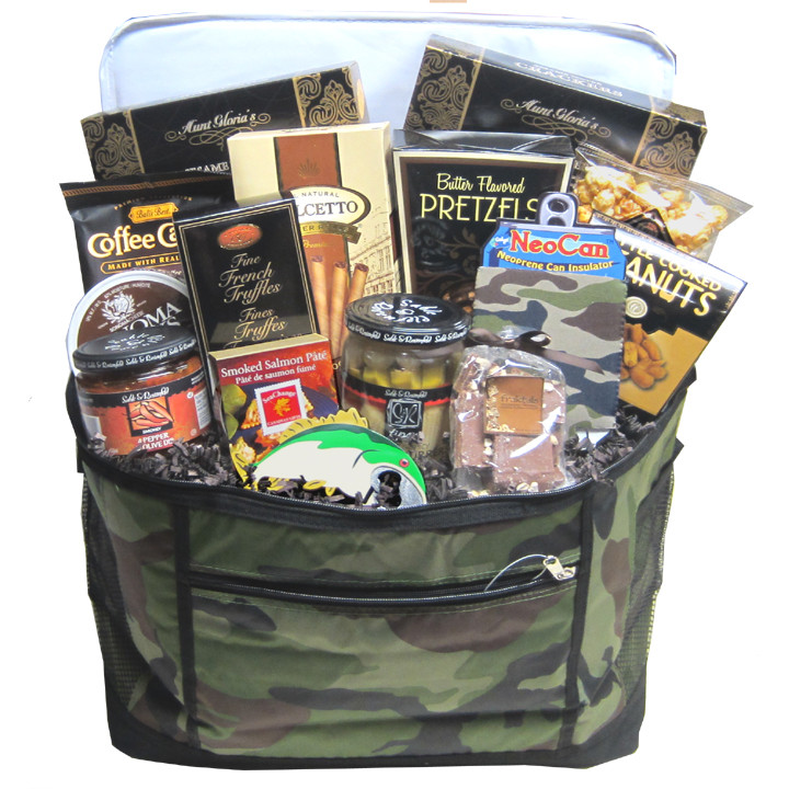 Hunting Gift Basket Ideas  Retirement Gifts Canada fishing hunting t basket ontario