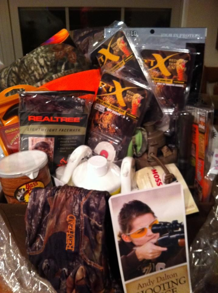 Hunting Gift Basket Ideas  146 best images about Silent Auction Baskets on Pinterest