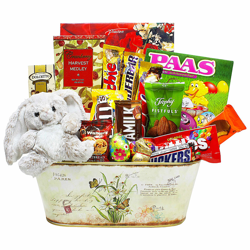 Hunting Gift Basket Ideas  Easter Egg Hunting Party Bunny Sweet Gift Basket