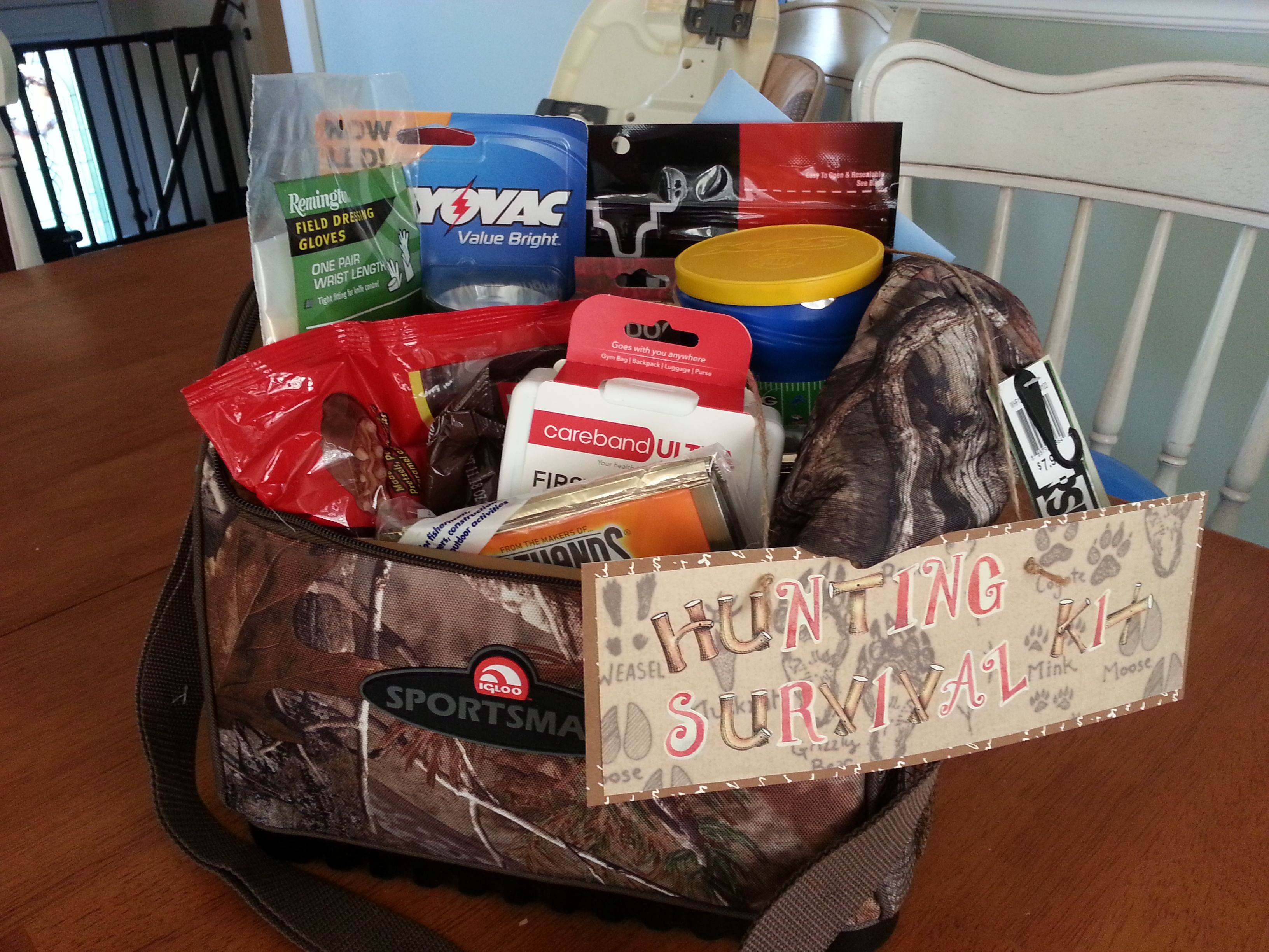 Hunting Gift Basket Ideas  Pin by MSharb on ME chelle misc likes
