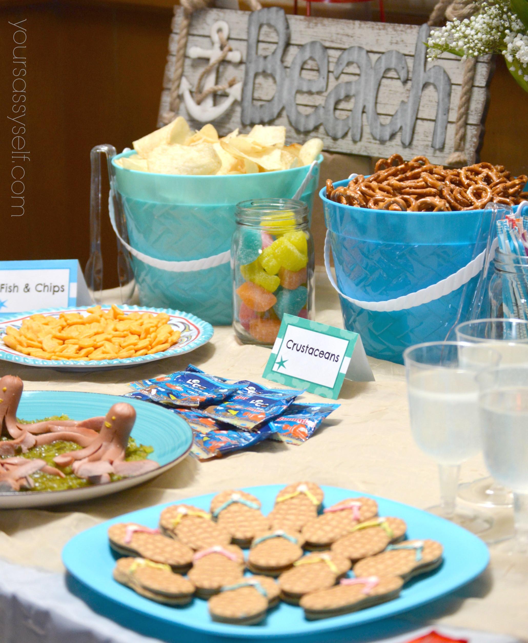 Ideas For A Beach Theme Party  Fun Birthday Beach Party Ideas For Any Age Your Sassy Self