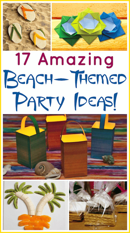 Ideas For A Beach Theme Party  17 Beach Theme Party Ideas for Indoors or Outdoors