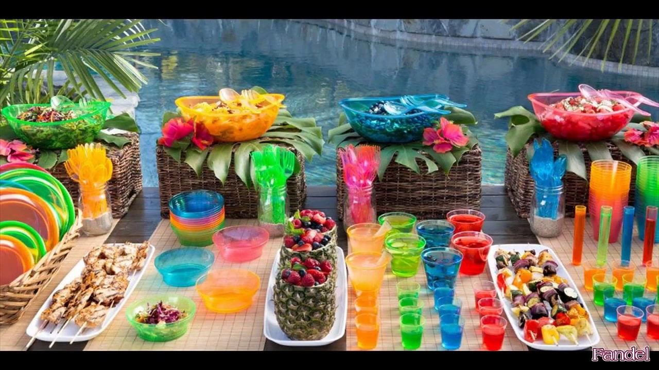 Ideas For A Beach Theme Party  Beach Party Decoration Ideas for Adults