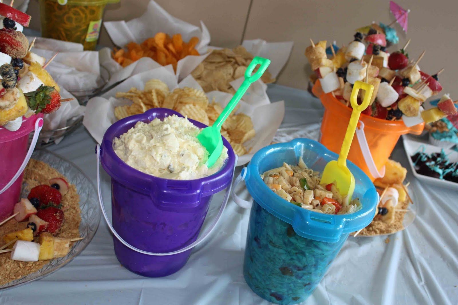 Ideas For A Beach Theme Party  Gourmet Mom on the Go Panini Beach Party & Giveaway