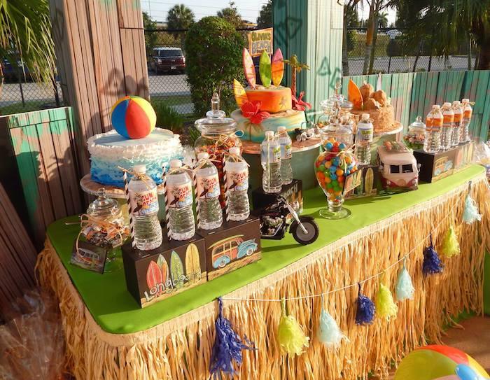 Ideas For A Beach Theme Party  Kara s Party Ideas Disney s Teen Beach Movie Themed