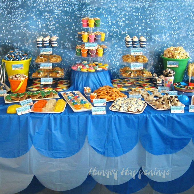 Ideas For A Beach Theme Party  Beach Themed Party Ideas & Under the Sea Desserts