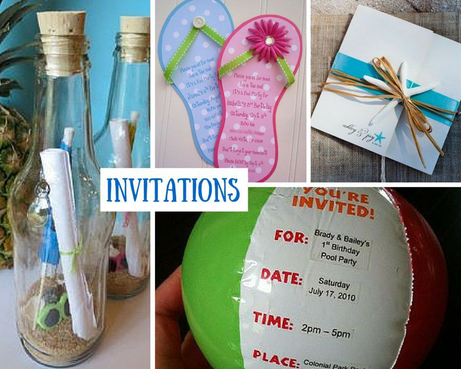 Ideas For A Beach Theme Party  Beach Party Ideas for Kids