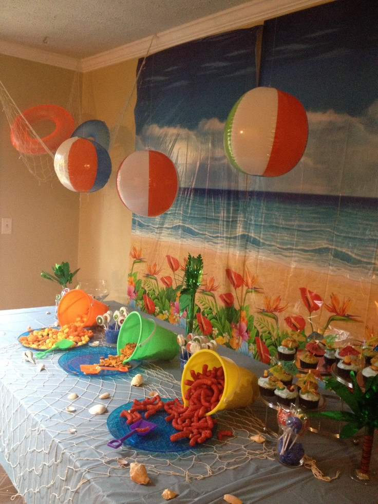 Ideas For A Beach Theme Party  17 Best images about Beach Party on Pinterest