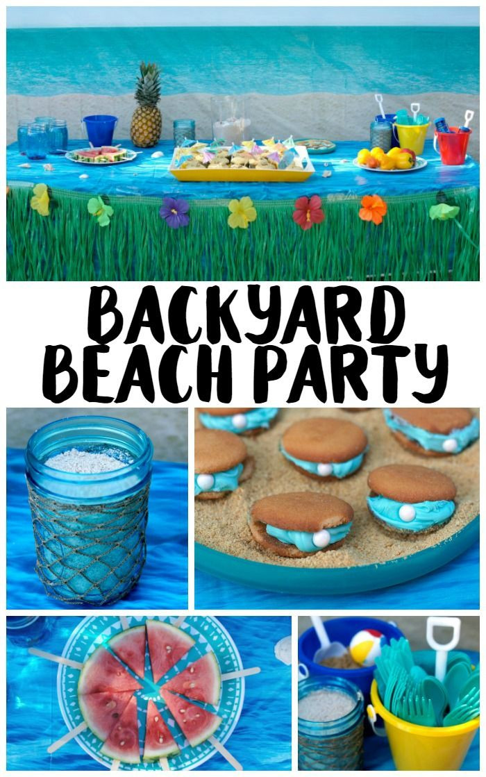 Ideas For A Beach Theme Party  25 best ideas about Beach party games on Pinterest