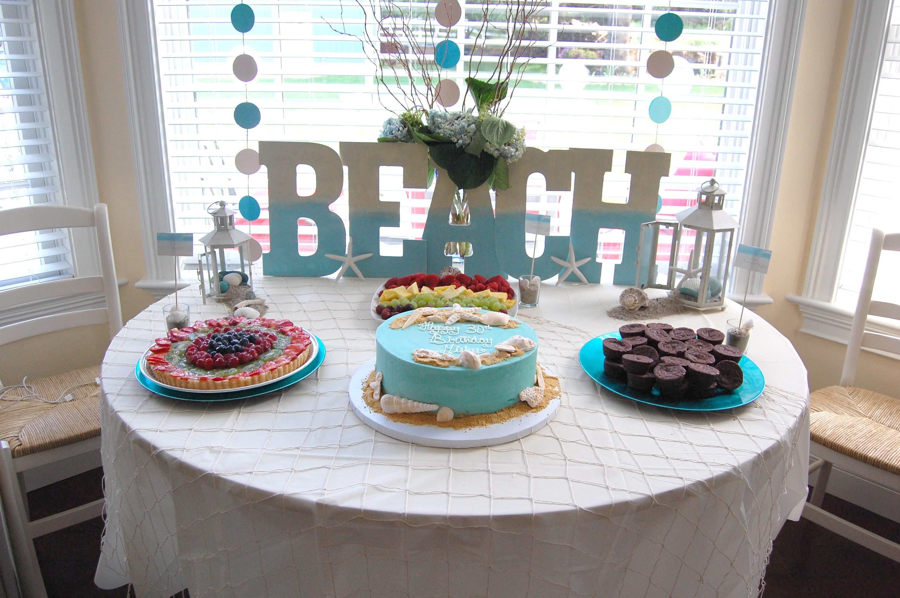 Ideas For A Beach Theme Party  Beach Theme Party – Made2Style