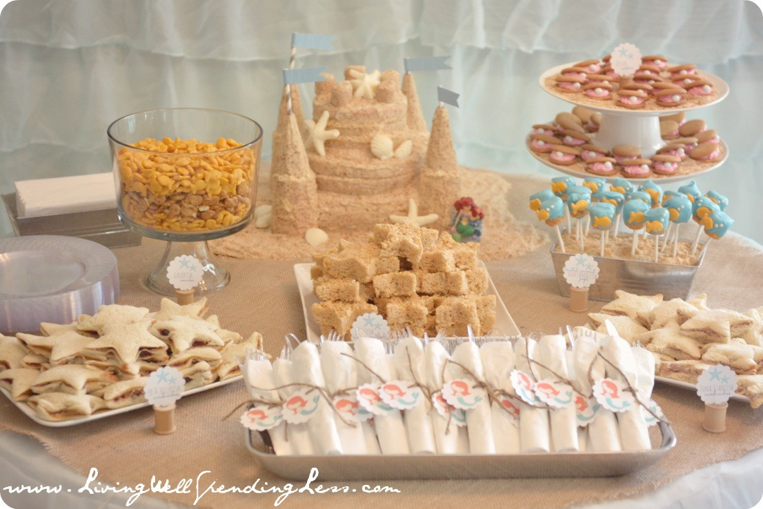 Ideas For A Beach Theme Party  Beachy Mermaid Party Beach Party