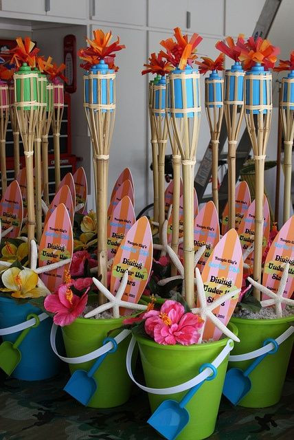 Ideas For A Beach Theme Party  Teen Beach Party on Pinterest