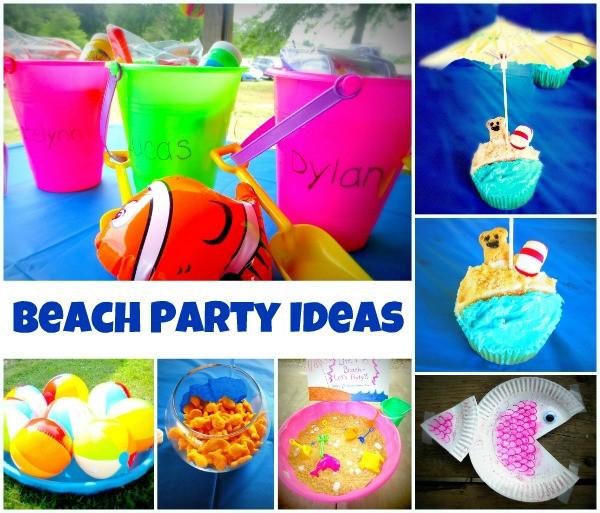 Ideas For A Beach Theme Party  Beach Party Ideas