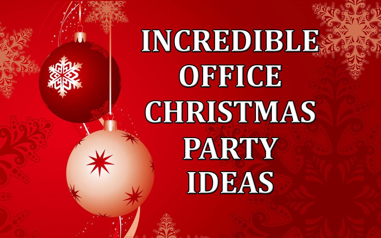 Ideas For Company Christmas Party  Incredible fice Christmas Party Ideas edy Ventriloquist