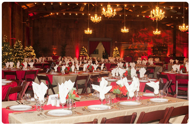 Ideas For Company Christmas Party  Rustic Holiday Party Seasonal Party Ideas