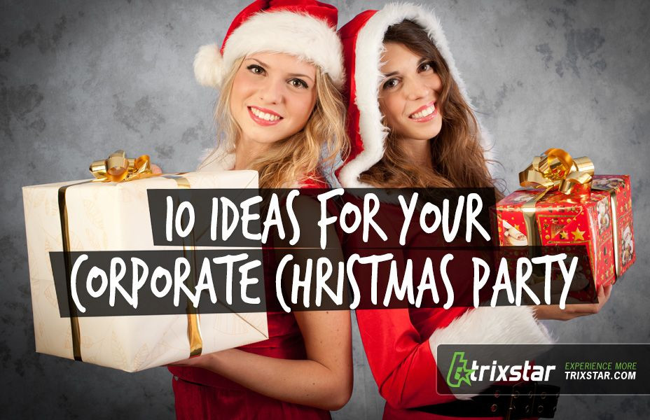 Ideas For Company Christmas Party  10 Ideas for Your Corporate Christmas Party