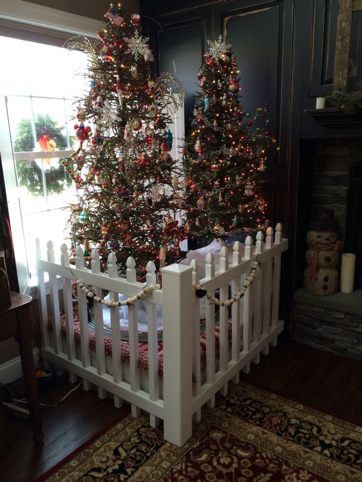 Indoor Christmas Tree Fence  25 unique Christmas tree fence ideas on Pinterest