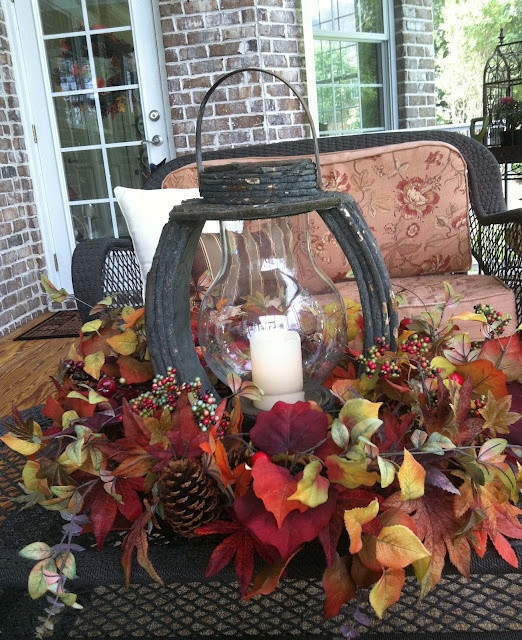 Indoor Fall Decorating Ideas  50 Fall Lanterns For Outdoor And Indoor Decor Best