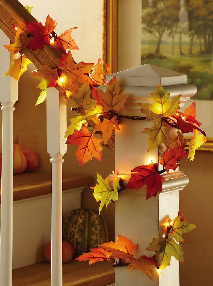 Indoor Fall Decorating Ideas  Thanksgiving Home Decor Ideas
