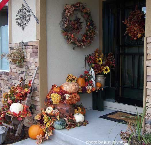 Indoor Fall Decorating Ideas  Outdoor Fall Decorating Ideas for Your Front Porch and Beyond