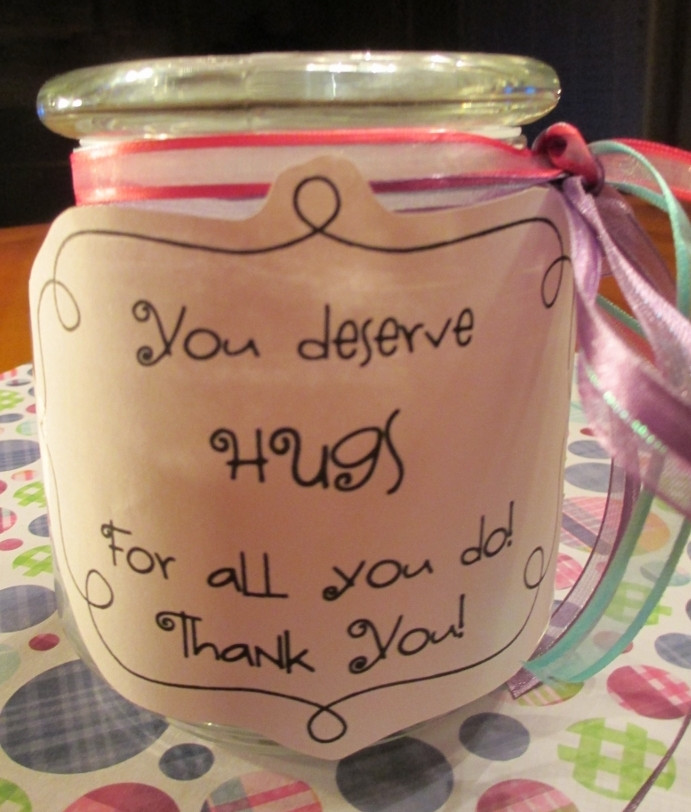 Inexpensive Thank You Gift Ideas  Quick and Easy Thank You Gifts for Classroom Volunteers