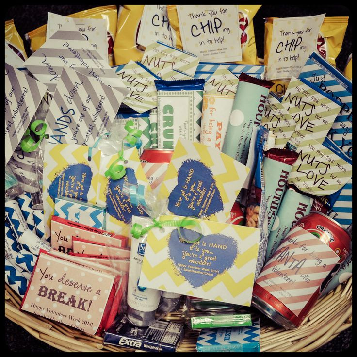 Inexpensive Thank You Gift Ideas  Creative Ideas for Volunteer Recognition Inexpensive way