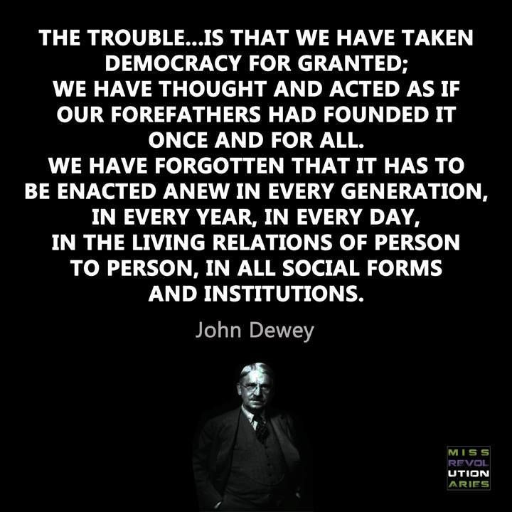 John Dewey Quotes On Education  John Dewey quote Tea parties Pinterest