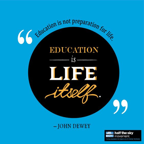 John Dewey Quotes On Education  John dewey Wise quotes and Education on Pinterest