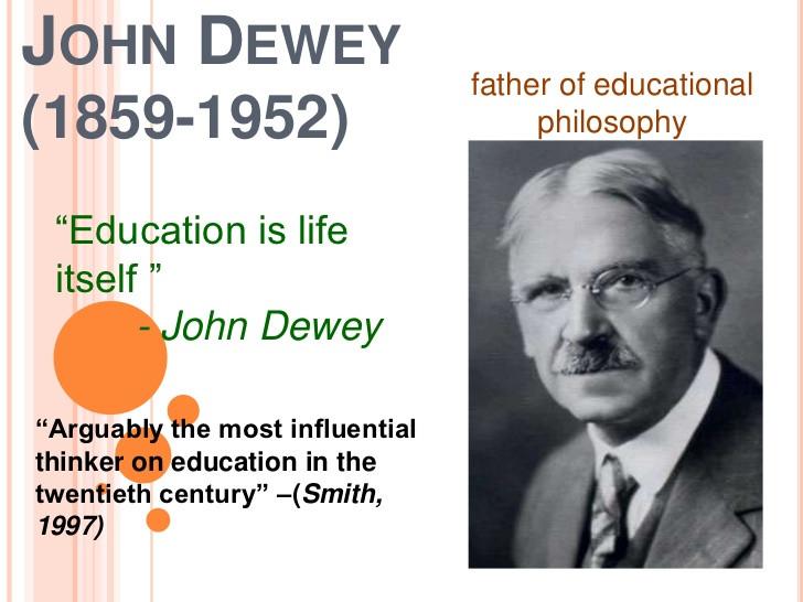 John Dewey Quotes On Education  John Dewey Powerpoint