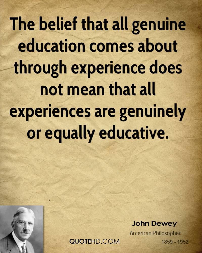 John Dewey Quotes On Education  John Dewey Quotes QuotesGram