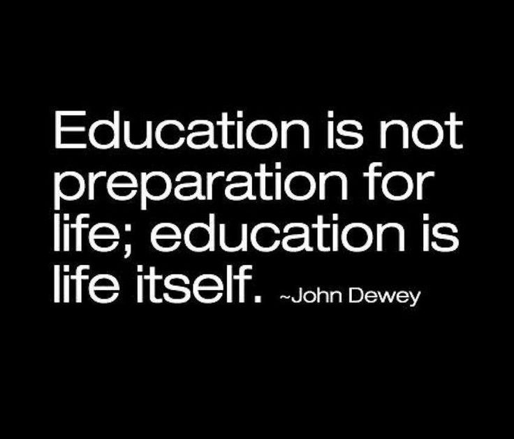 John Dewey Quotes On Education  John Dewey Education The Importance of
