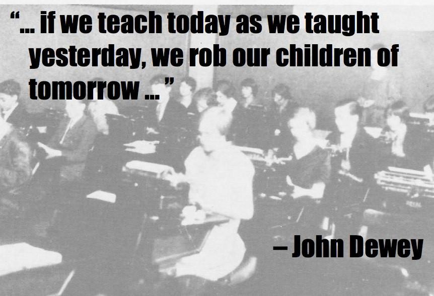 John Dewey Quotes On Education  John Dewey Learning Theories ETC547 Spring 2011