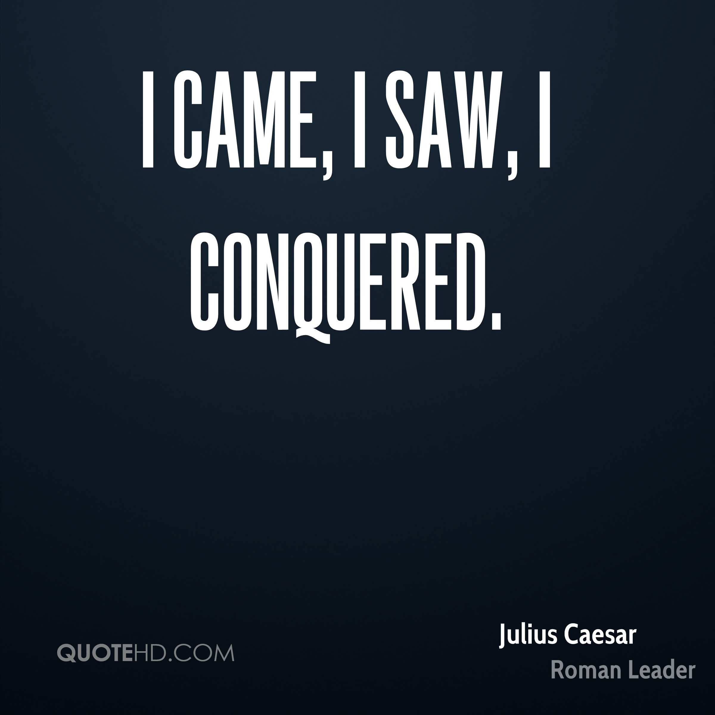 Julius Caesar Leadership Quotes  Julius Caesar History Quotes
