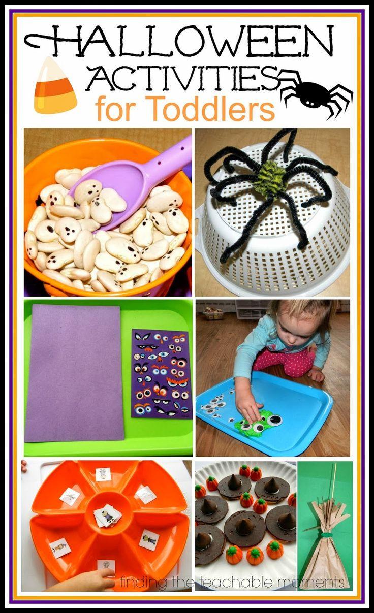 Kindergarten Halloween Party Ideas  Finding the Teachable Moments Tot School Halloween