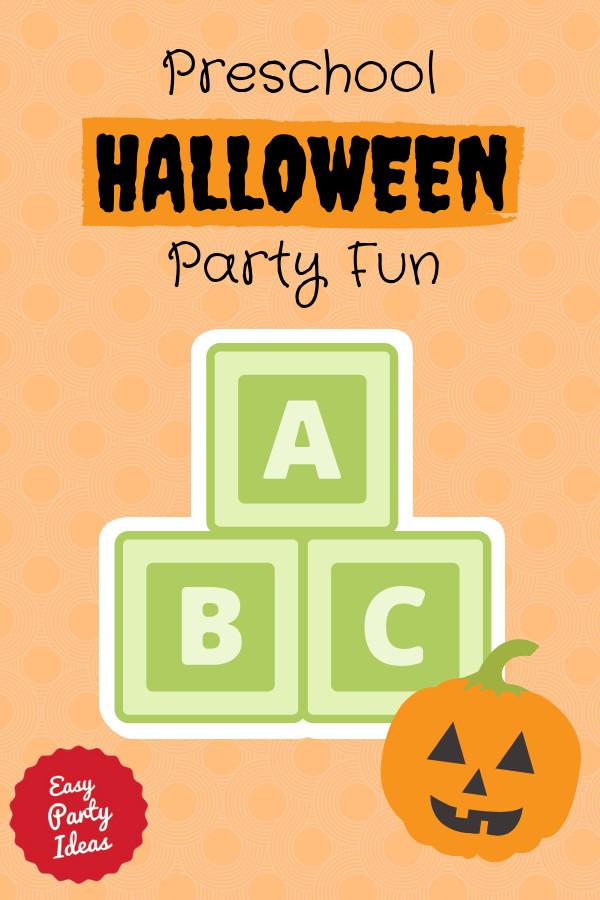 Kindergarten Halloween Party Ideas  Preschool Halloween Party