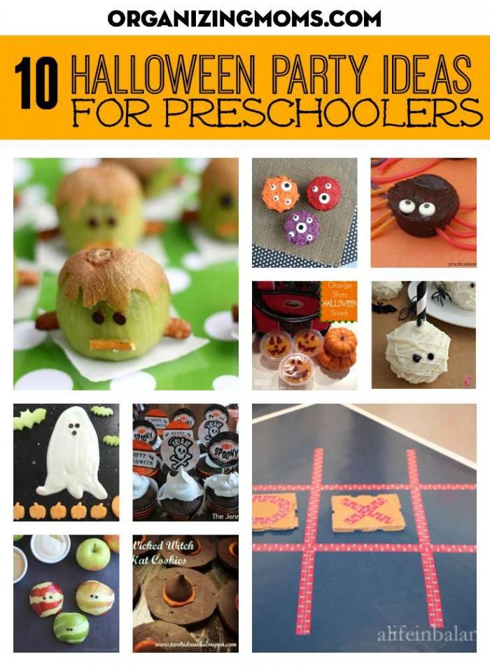 Kindergarten Halloween Party Ideas  Halloween Party Ideas for Preschoolers