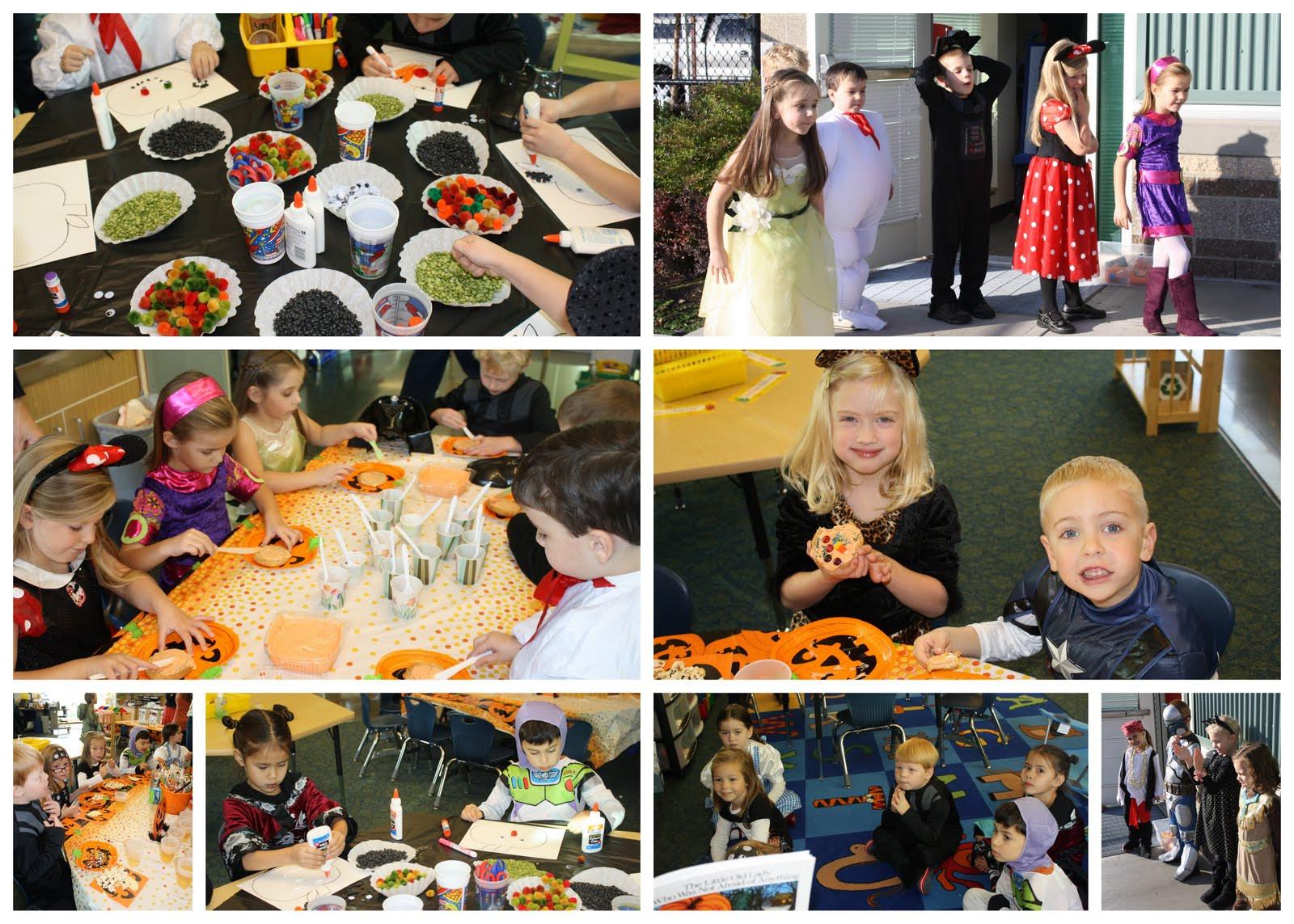 Kindergarten Halloween Party Ideas  Blue Eyed Blessings kindergarten halloween party